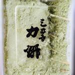 三井寺力餅本家 - きなこがグリーン色~♪