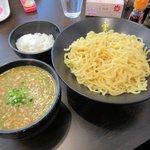 かれー麺 実之和 - 冷やしかれ―麺+半ライス2015.12.29