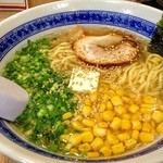 あじくら - 塩バターらーめん/太麺