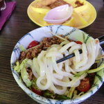 まーむ - ジャージャー麺のアップ