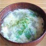 鳥ぎん - とりスープ