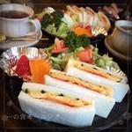 けやき - 料理写真:✨Today's Breakfast ✨ 名古屋モーニング発症の土地、一の宮市のモーニング。ドリンクにプラス300円で