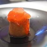 銀座メゾン アンリ・シャルパンティエ - リンゴを使ったカクテルサバラン、ジャックローズ