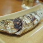 鳥魚 - きゅうり塩焼き