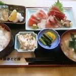 海鮮料理魚春とと屋 - ランチお刺身定食1000円