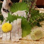 幸寿司 - えぼだいの刺身酢〆