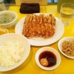 45985386 - 焼き餃子定食750円