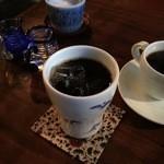 さかい家 - アイスコーヒーです。