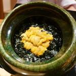 豪龍久保 - 海胆ご飯
