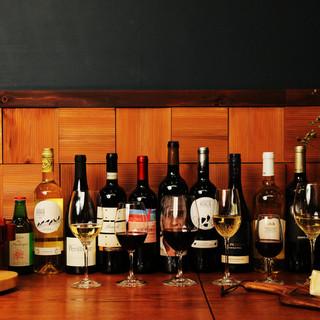 各国のワインやカクテルが豊富&飲み放題もご用意しております