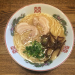 博多 - ラーメン  麺かた〜(*^◯^*)❤️