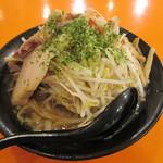 ラーメン&カレー 山形アッキー - どか盛り野菜味噌らーめん