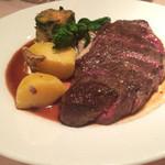 ル・ビストロ・ダ・コテ - 和牛もも肉のステーキ