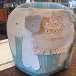 ティーハウス ムジカ - '10/07ポットカバー 白い象さん