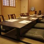 岩むら - 二階席は40名までのご予約が可能です。会食や宴会にご利用ください。
