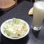 摂津 - サラダ&ドリンク