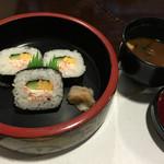札幌かに家 - 太巻と赤出汁