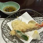 札幌かに家 - 天ぷら