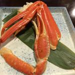 札幌かに家 - 茹で半身