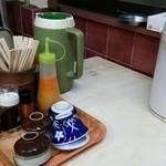 食堂 備前 - 常備品