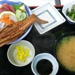 食堂 備前 - ふくふく丼:1300円