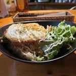 Ωcafe - 鶏肉と7種野菜のガッパオ_2015/12