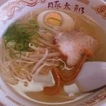 豚太郎 - 塩ラーメン小  530円