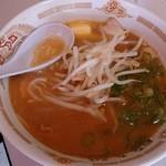 豚太郎 - 味噌バターラーメン  580円