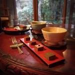 京都生ショコラ オーガニックティーハウス - ✨4種の生チョコとお抹茶セット✨900yen