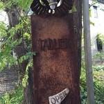 タブリエ - 【2015.12】入り口のサインが変わっていました