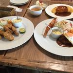 Youshokuyanakamura - お皿が大きい!