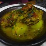 モロッコ料理 ル・マグレブ - タジン(チキン、ジャガイモ)
