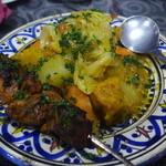 モロッコ料理 ル・マグレブ - クスクス