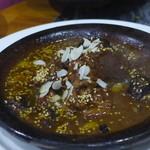 モロッコ料理 ル・マグレブ - タジン(ラム、レーズン)