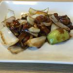 中華ごはん かんざし - 黒酢の酢豚アップ