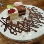じょえる - ケーキ4種盛り