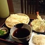 うどん家来夢 - 天ざると醤油餅
