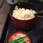 そじ坊 - 定食の炊き込みご飯