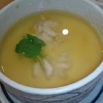 栄寿司 - 白子の茶わん蒸し