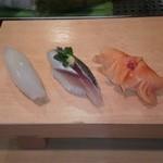 栄寿司 - イカ、イワシ、赤貝