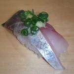 栄寿司 - アジ