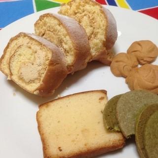 洋菓子工房 クリクリ - 料理写真:余り綺麗に切れなくてゴメンナサイ_(_^_)_