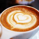 GORILLA COFFEE - カフェラテ。今回はハートにしてくださいました♪