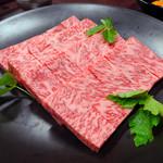 Kinnabe - 「牛鍋コース」伊万里牛サーロイン