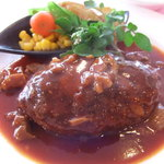 4600554 - 豊後牛のハンバーグステーキ