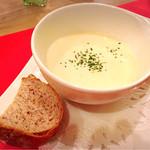 アイレMDレストラン - クラムチャウダースープ