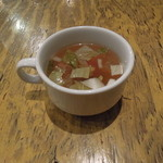 フジヤマ - セットに含まれるスープ
