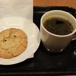 スターバックス・コーヒー - 料理写真:チョコレートチャンククッキー&ウインターブレンド