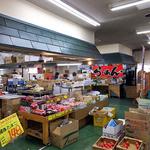 らーめん工房 魚一 - 『くしろ丹頂市場』の奥にあります(2015年12月)