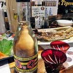 港釧路の炉端焼き 虎や - 地酒『福司』のオリジナルラベル(2015年12月)